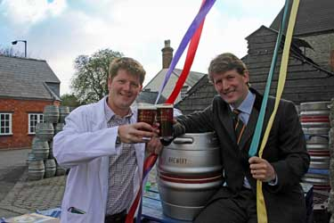 Alex and George Arkell celebrate Maypole Mild2LR.jpg