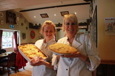 Laura Medlam & Catherine Kelly, Bakers Arms Stratton3lr.jpg