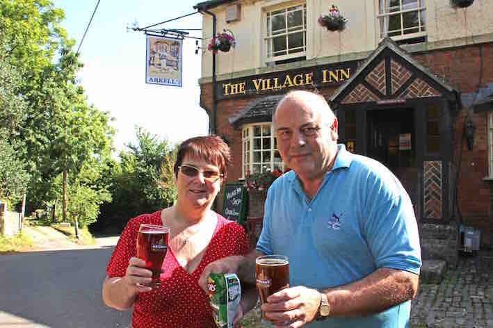 Ann and Phil Basford, The Village Inn, Liddington2LR.jpg