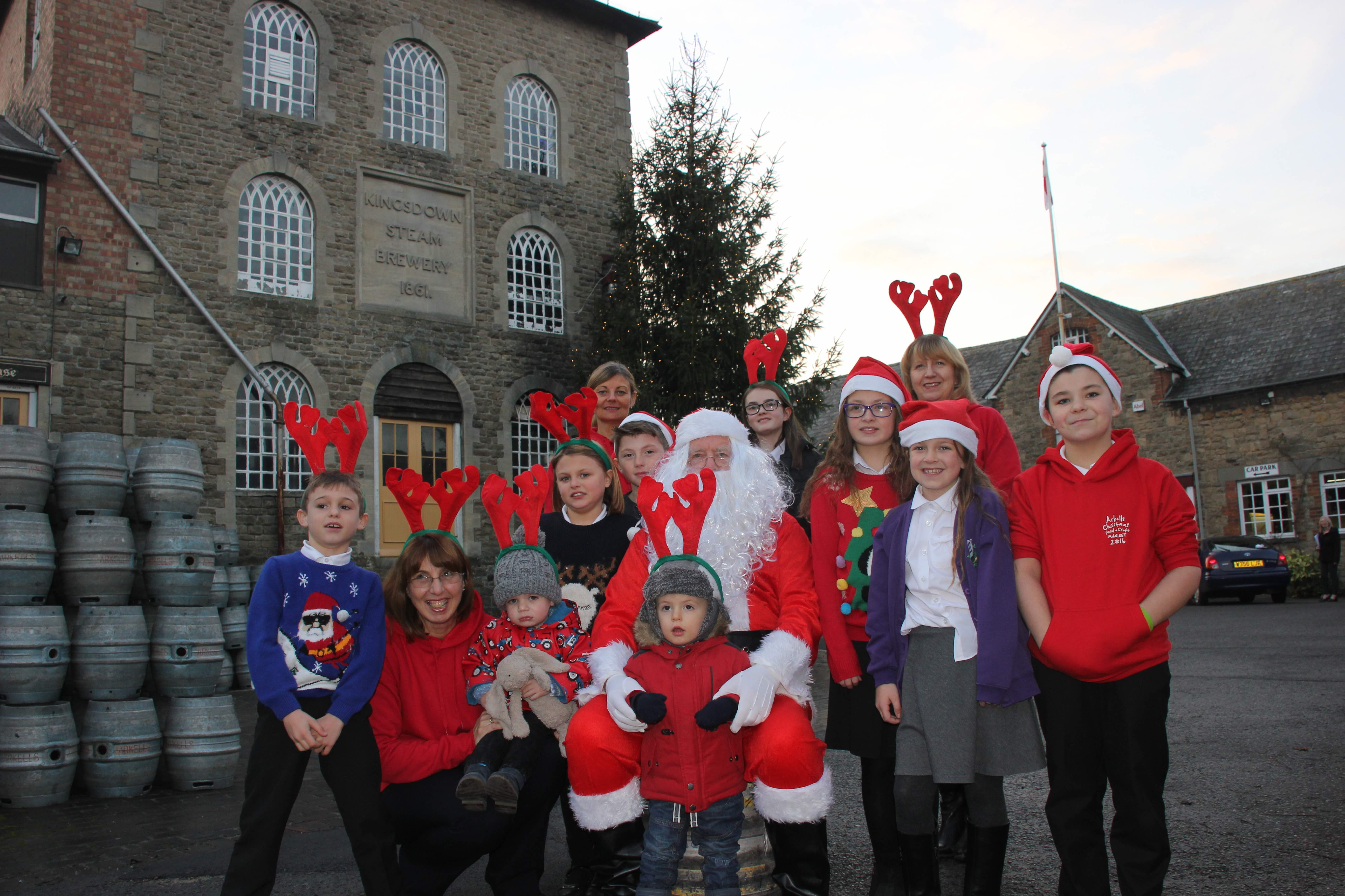 Ruskin pupils meet Father Christmas.jpg