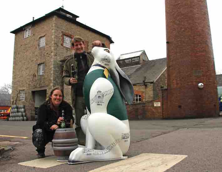 Sarah Bromley & George Arkell with Hare LR.jpg