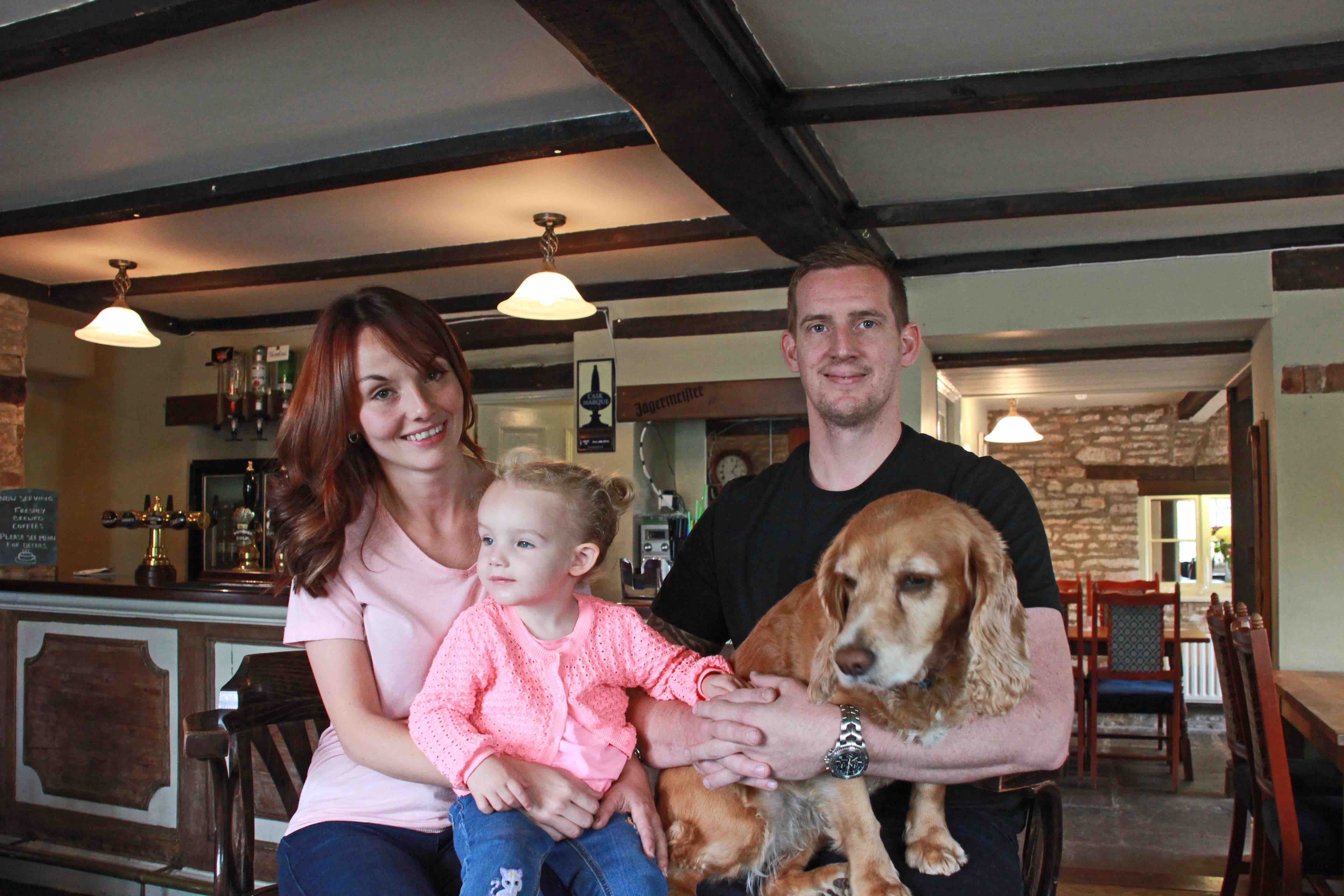 Ruth, Evie & Paul May with Betty the dog LR.jpg